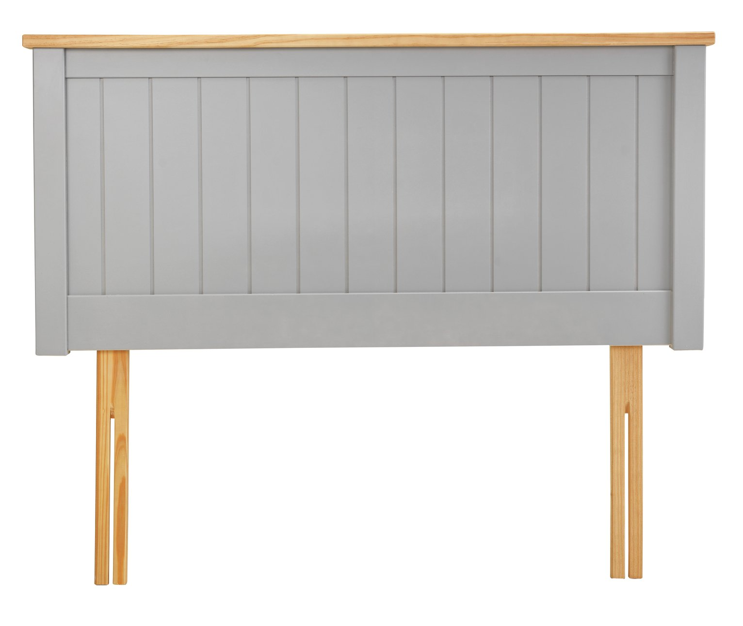 Argos Home Grafton Kingsize Headboard - Two Tone Grey