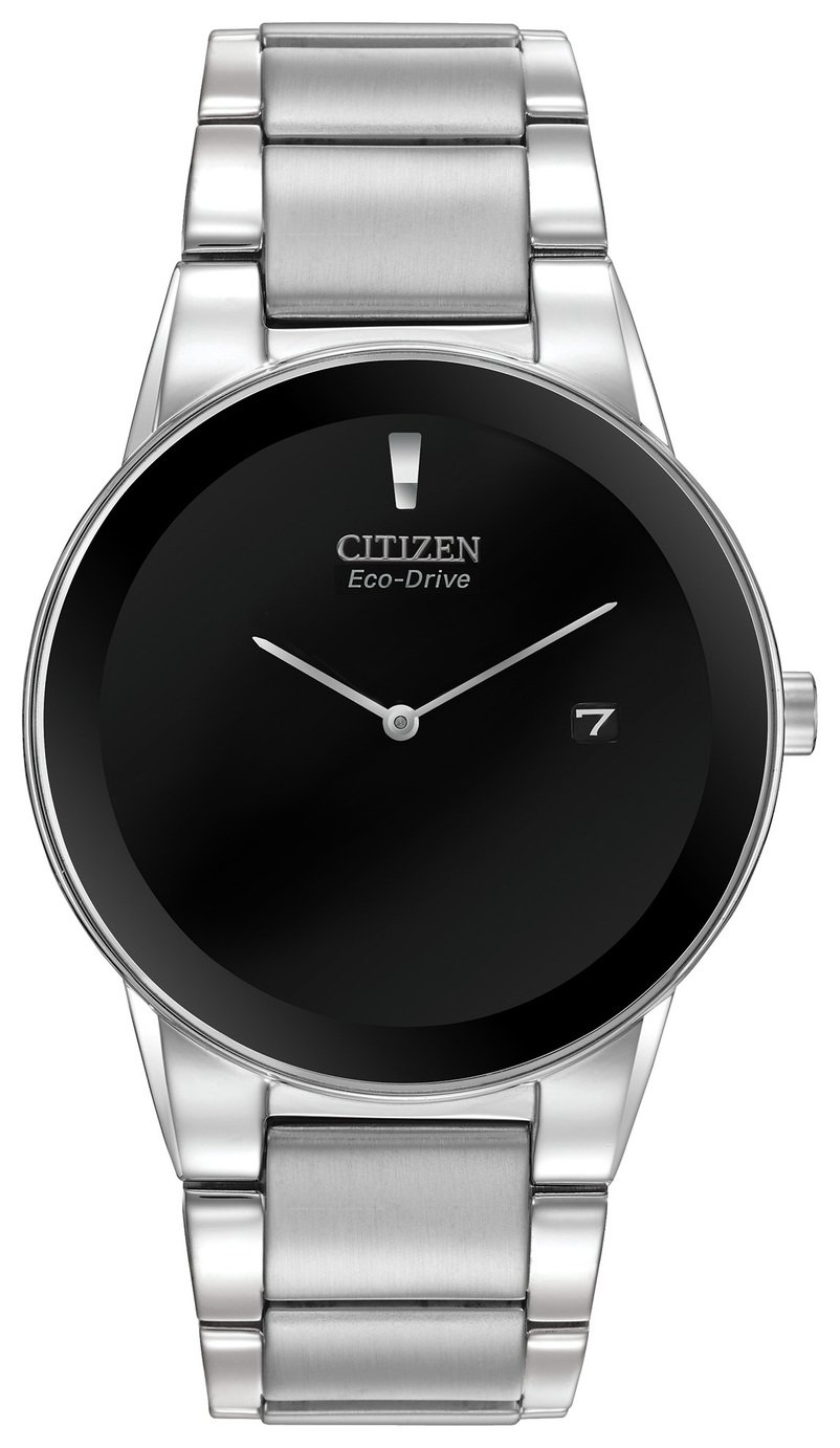 Citizen Eco-Drive Axiom Men's Stainless Steel Bracelet Watch