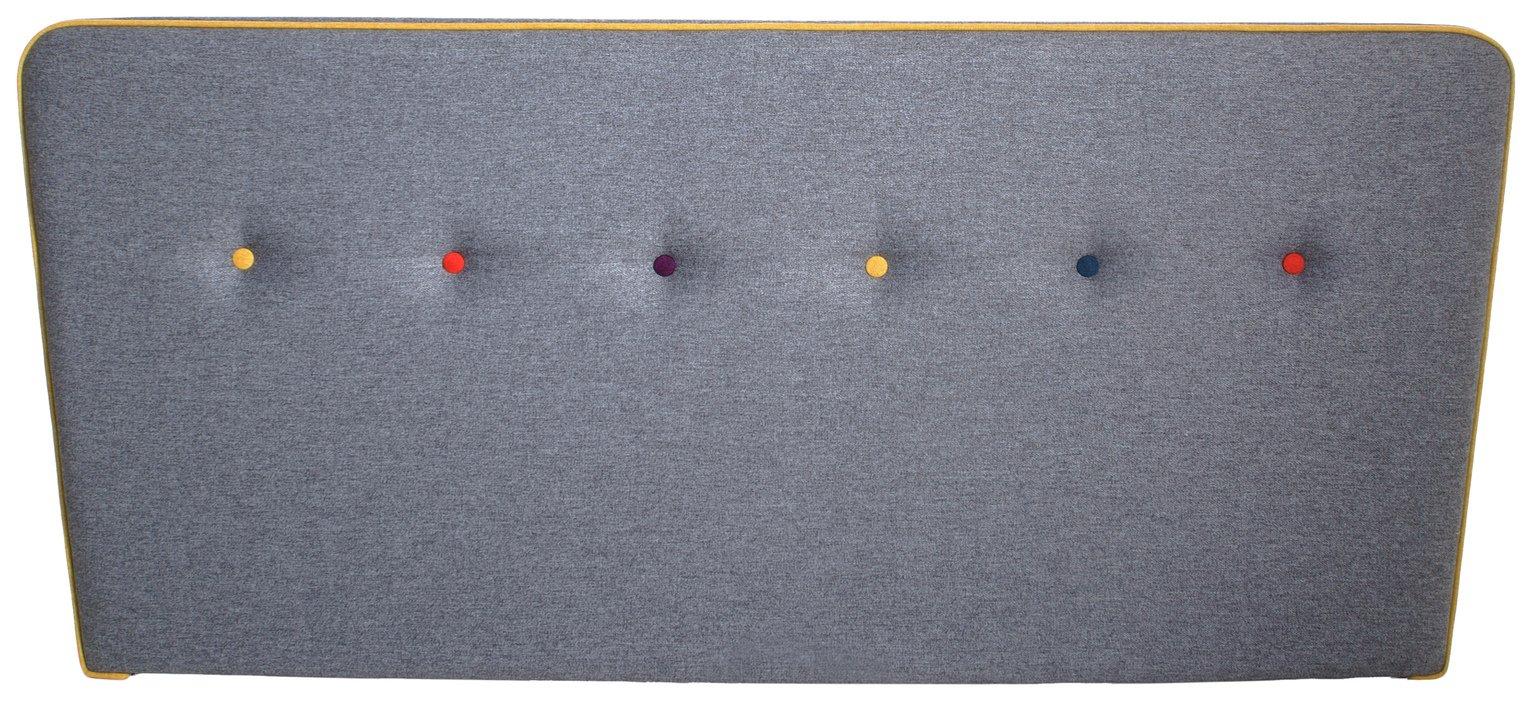 Image of Airsprung Cohen Kingsize Headboard - Grey
