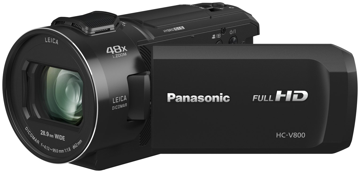 Panasonic HCV800 Full HD Camcorder - Black