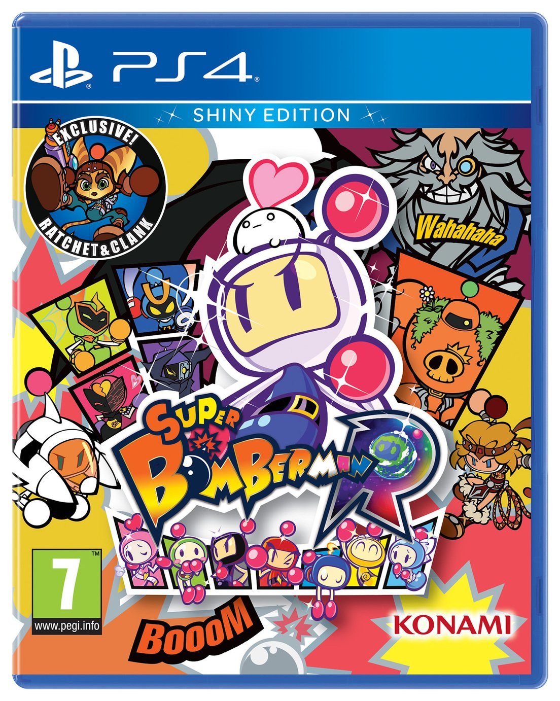 Image of Super Bomberman R: Shiny Edition PS4 Pre-Order Game