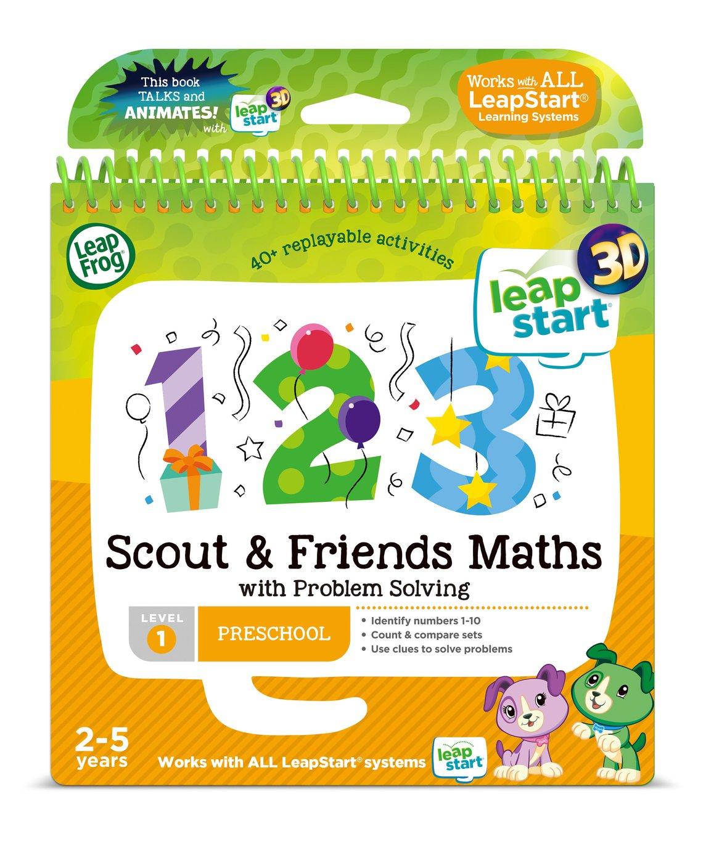 LeapFrog LeapStart 3D Scout Maths Story Book