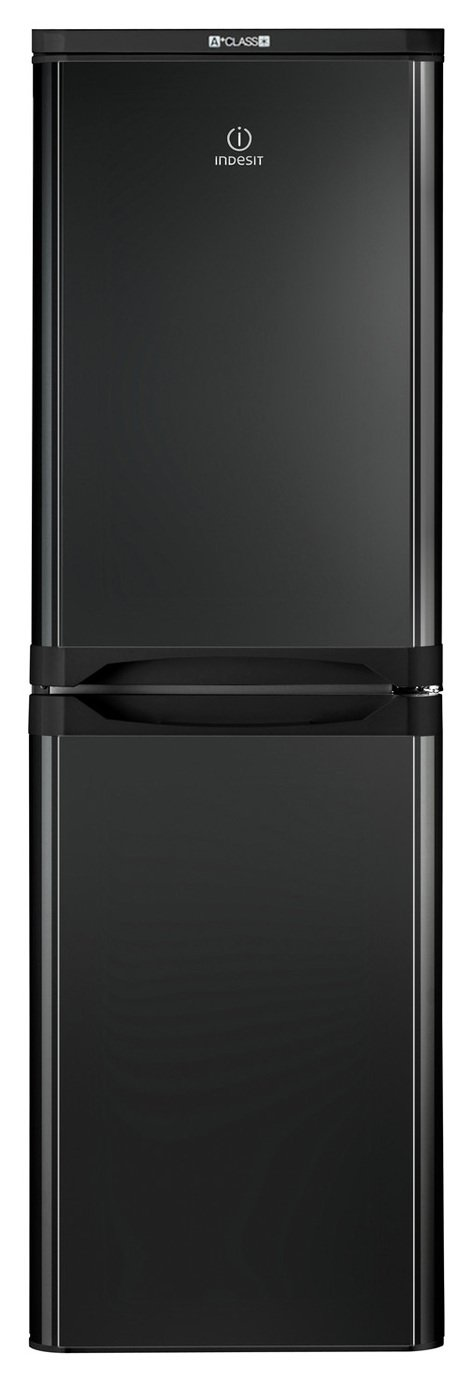 Indesit IBD 5517 B UK Fridge Freezer - Black