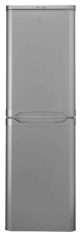 Indesit IBD517SUK Fridge Freezer - Silver Best Price, Cheapest Prices