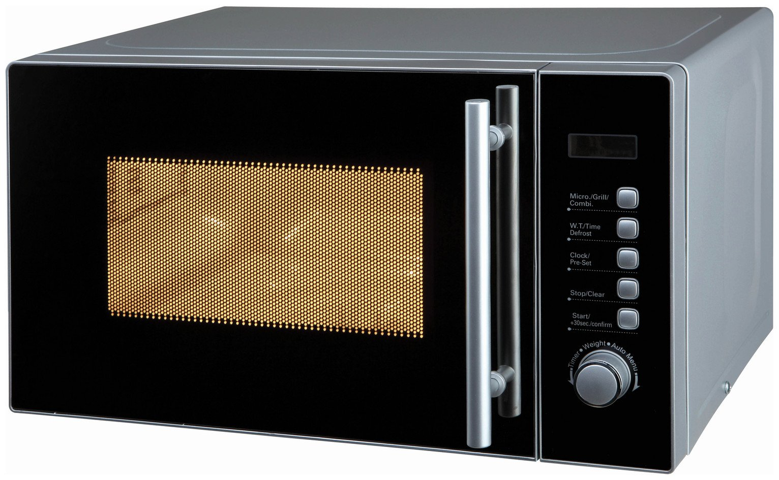 De'Longhi 800W Microwave with Grill AG820CMF - Silver
