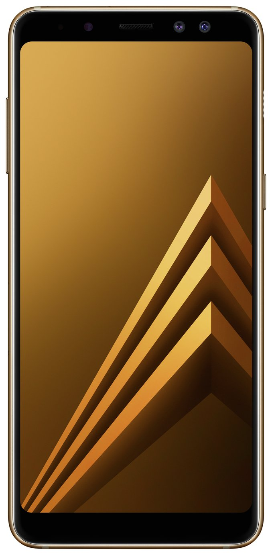 Sim Free Samsung Galaxy A8 Mobile Phone - Gold