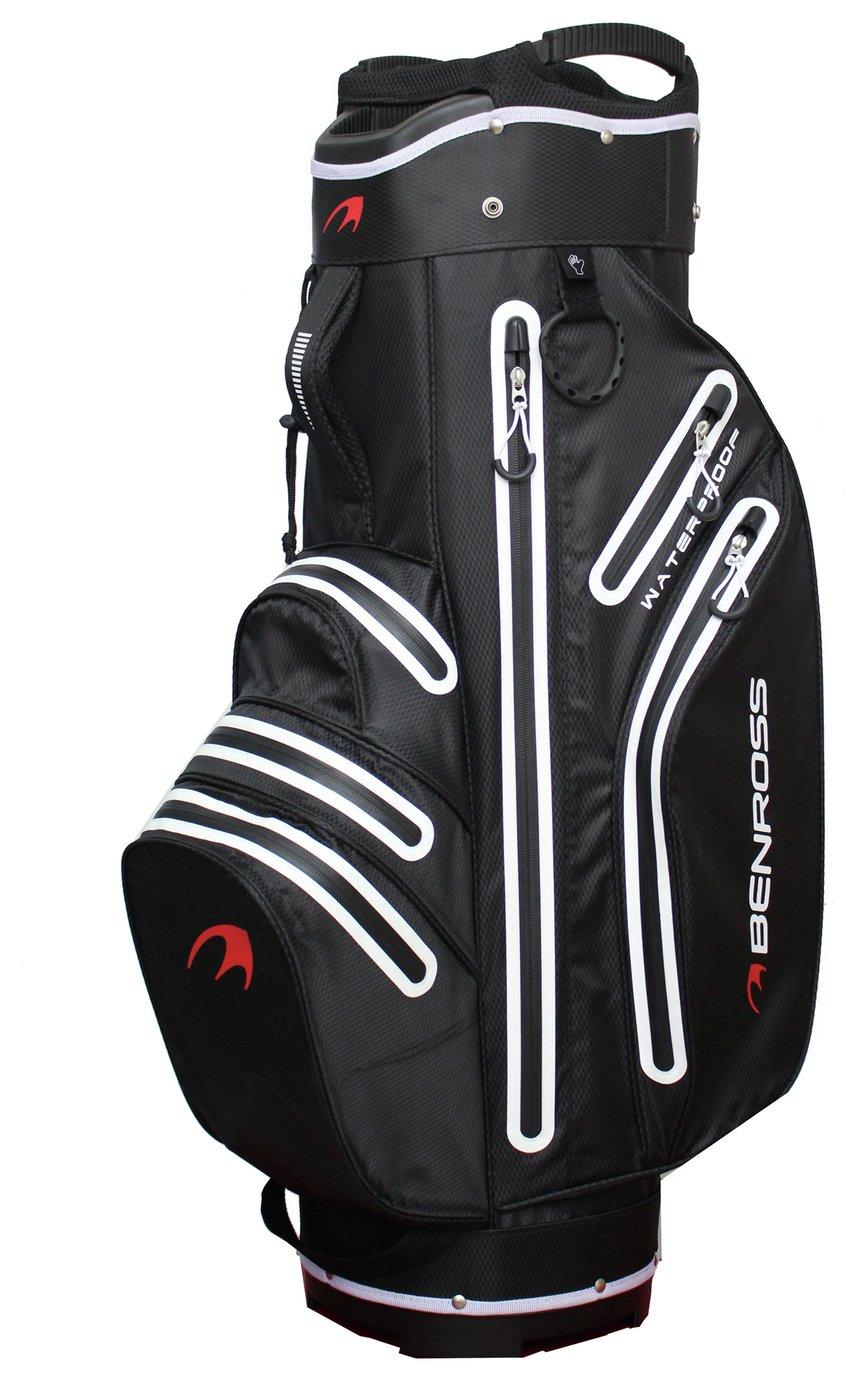 Image of Benross Golf HTX Compressor Waterproof Cart Bag - Black