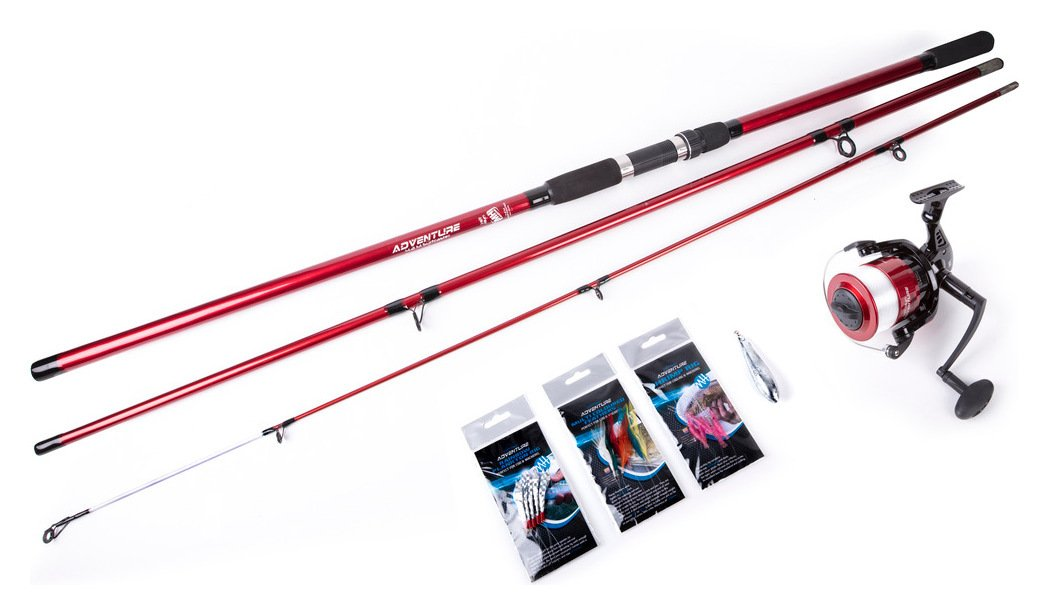 Matt Hayes Aventure Beachcaster Rod, Reel & Accessories