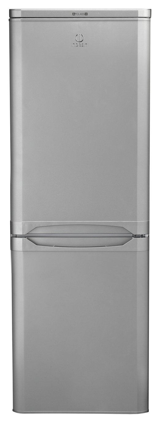 Indesit IBD5515SUK Fridge Freezer - Silver Best Price, Cheapest Prices