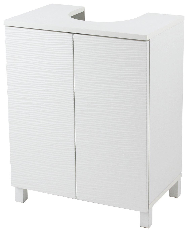 Argos Home Ripple Undersink Storage Unit - White