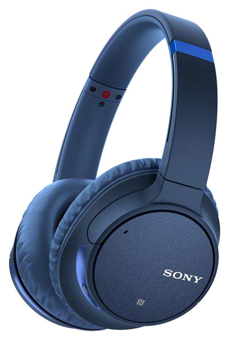 Sony WH-CH700NL On-Ear Wireless Headphones - Blue