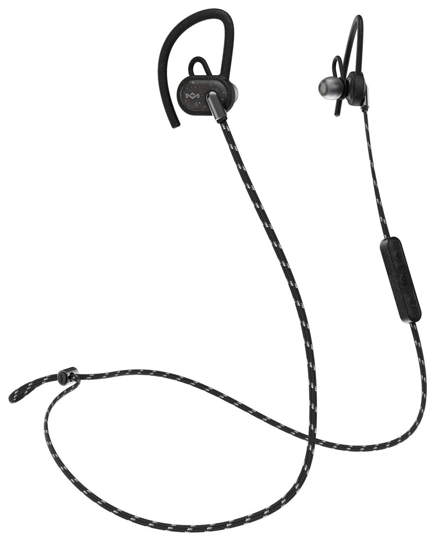 House of Marley Uprise Wireless In-Ear Headphones - Black
