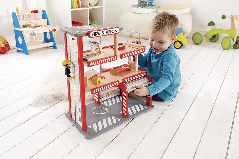 Image of Hape Fire Station Playset
