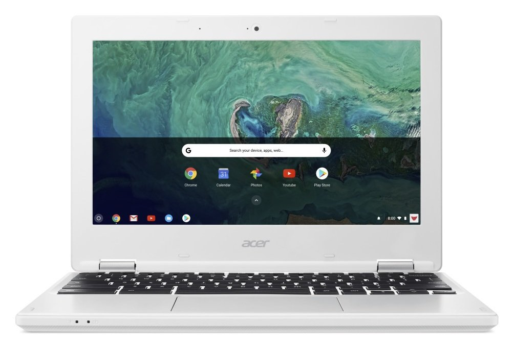 Image of Acer 11.6 Inch Celeron 2GB 16GB Chromebook