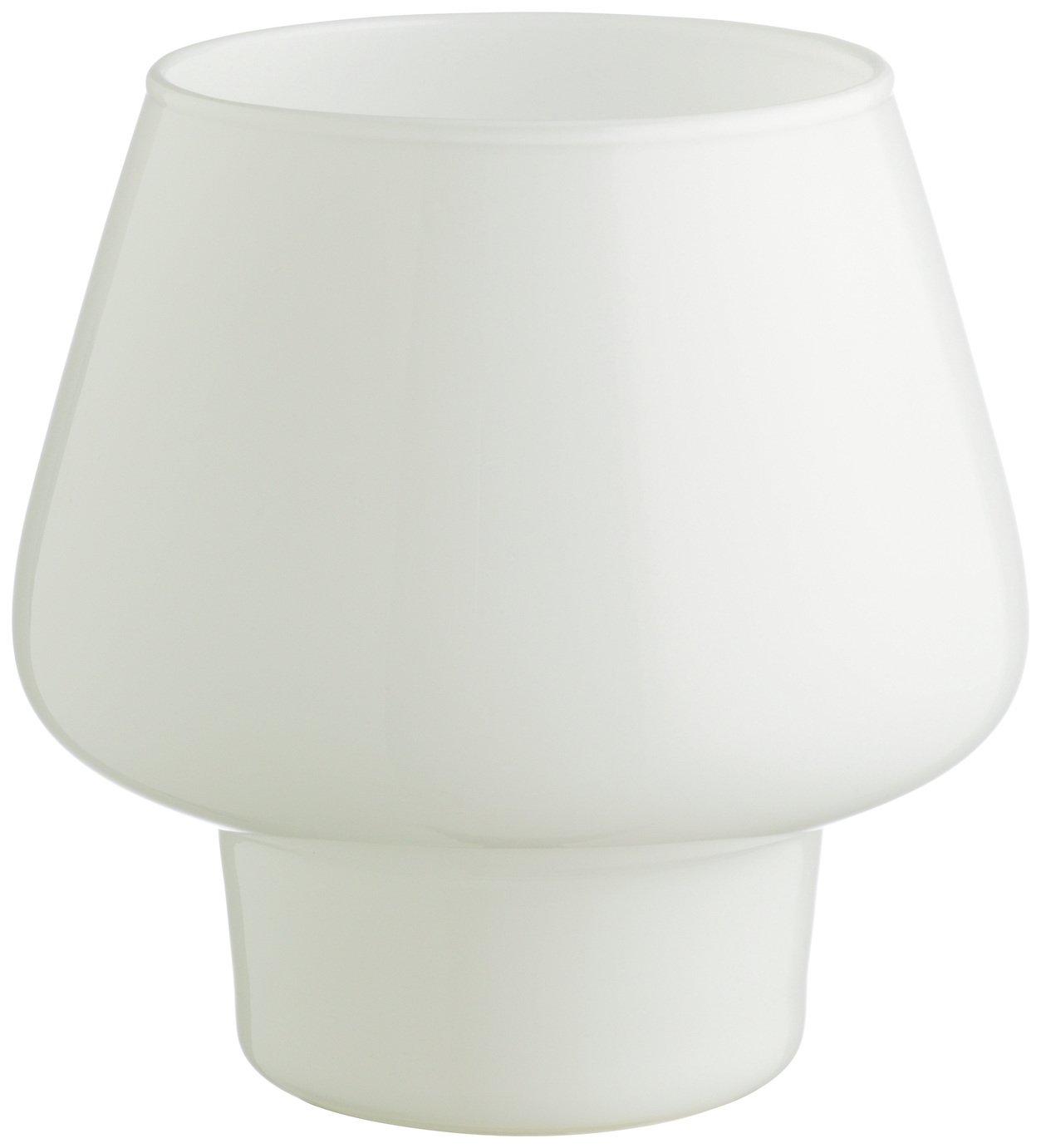 Habitat Lyss White Glass Table Lamp - White