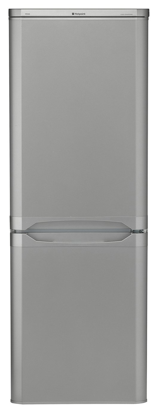 Hotpoint HBD5515SUK Fridge Freezer - Silver Best Price, Cheapest Prices