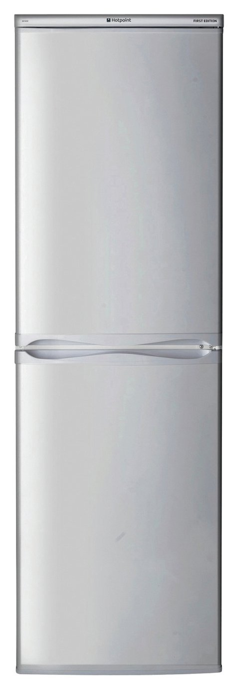 Hotpoint HBD5517SUK Fridge Freezer - Silver Best Price, Cheapest Prices