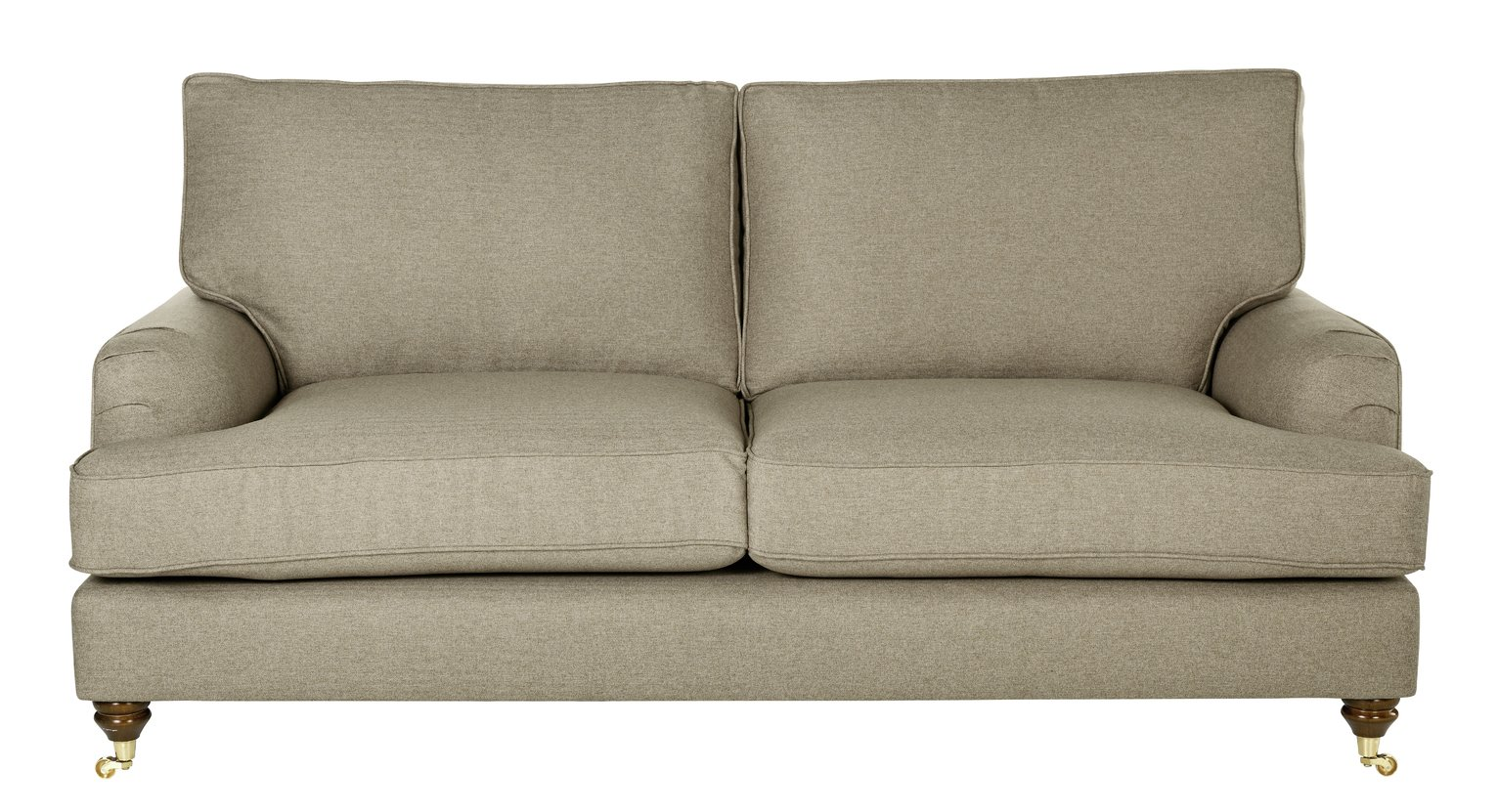 Image of Heart of House Abberton 3 Seater Sofa - Natural Tweed