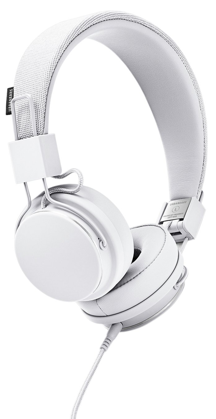 Urbanears Plattan 2 On-Ear Headphones - True White