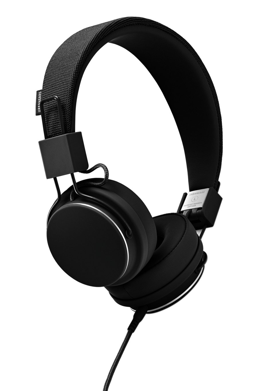 Urbanears Plattan 2 On-Ear Headphones - Black