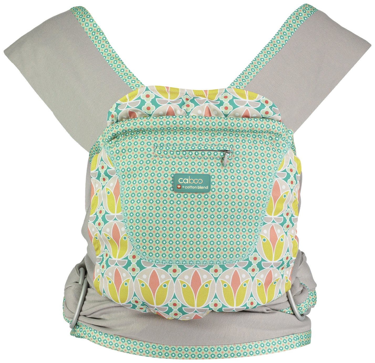 Image of Caboo+ Cotton Blend Baby Carrier - Olivia
