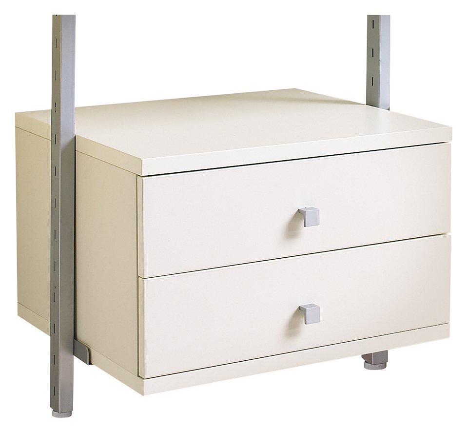 Image of Spacepro Aura 55cm Drawer - White