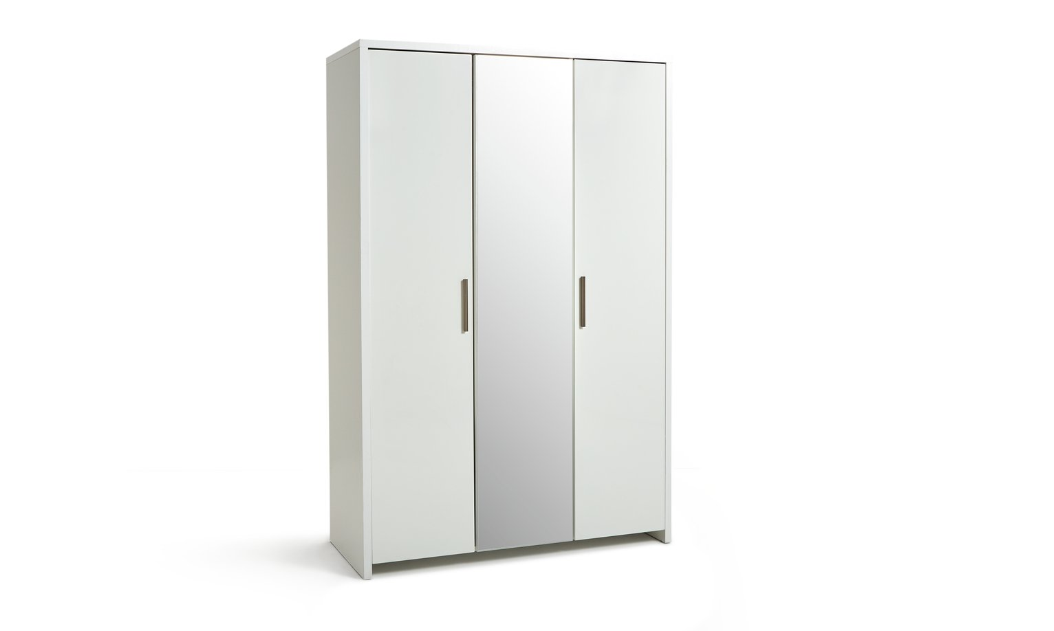 HOME Broadway 3 Door Mirrored Wardrobe