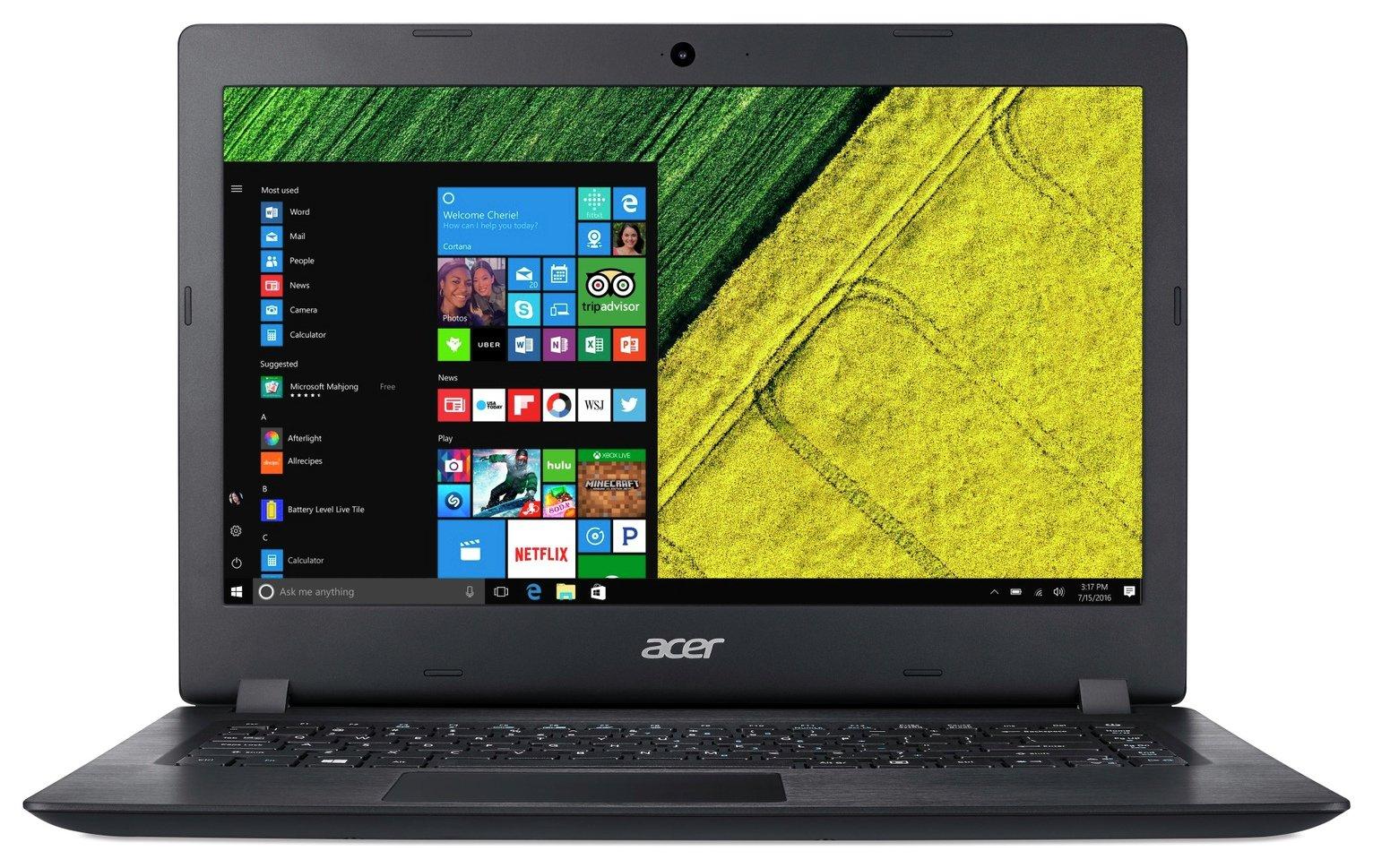 Acer Aspire 3 14 Inch Pentium 4GB 128GB Laptop - Black