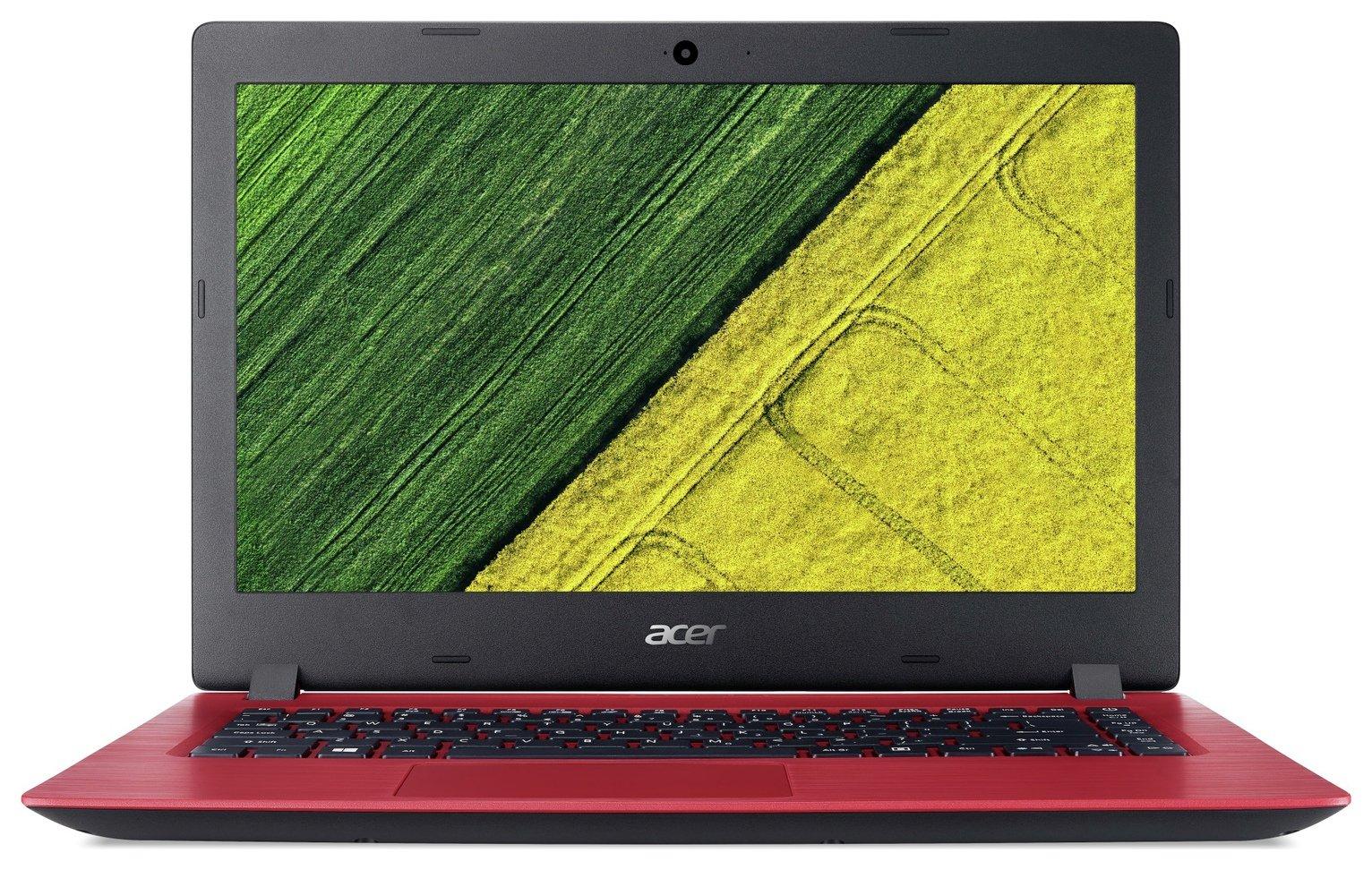 Acer Aspire 3 14 Inch Pentium 4GB 128GB Laptop - Red