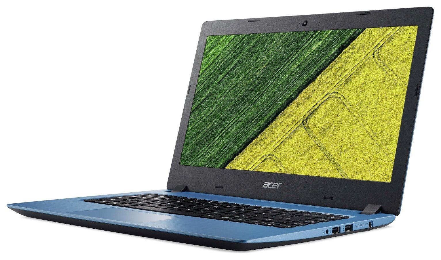 Acer Aspire 3 14 Inch Pentium 4GB 128GB Laptop - Blue
