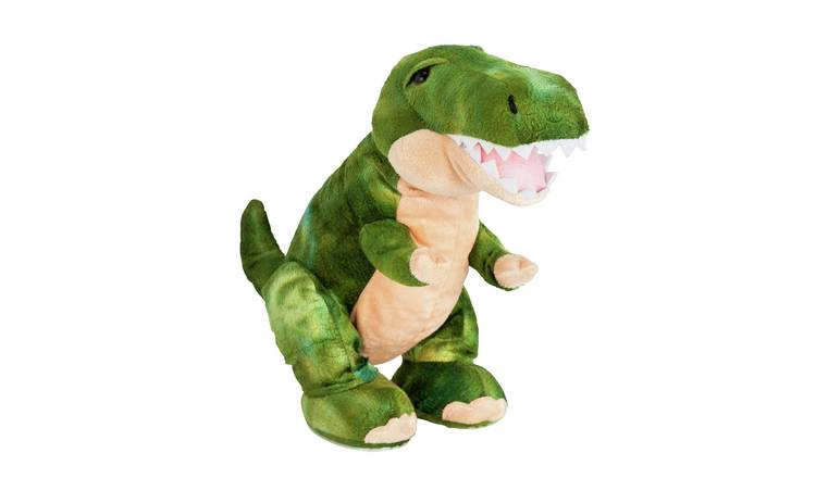 Chad Valley Interactive T-Rex Soft Toy