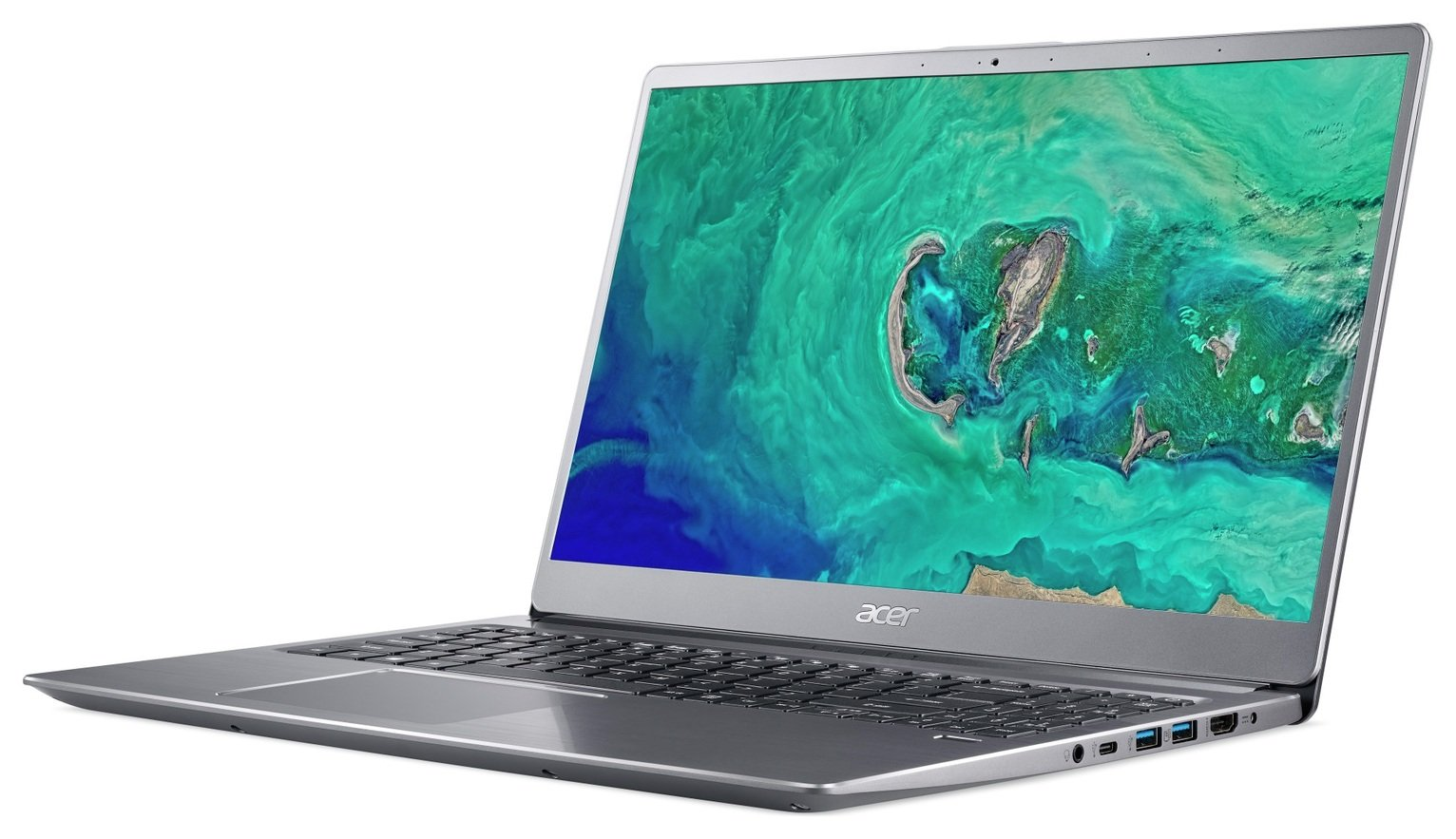 Acer Swift 3 15.6 Inch i5 8GB 256GB FHD Laptop - Silver