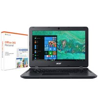 Acer Aspire 1 11In Celeron 2GB 32GB Cloudbook - Black