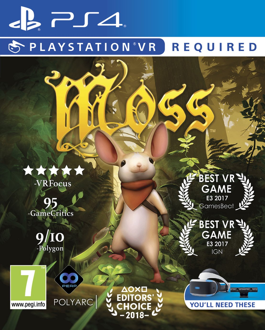 Moss PS VR Game (PS4)