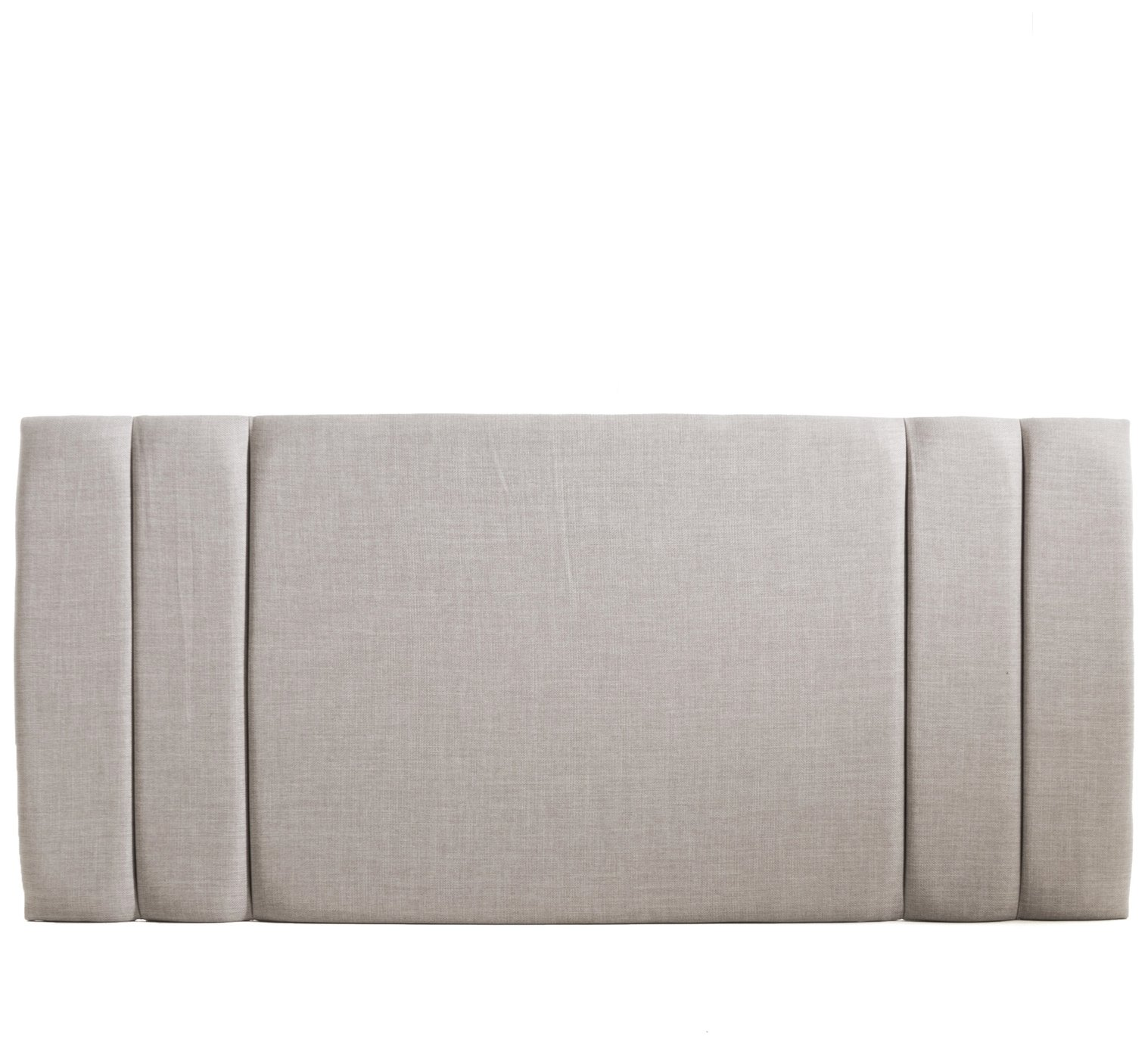 Airsprung Shawbury Kingsize Headboard - Light Grey