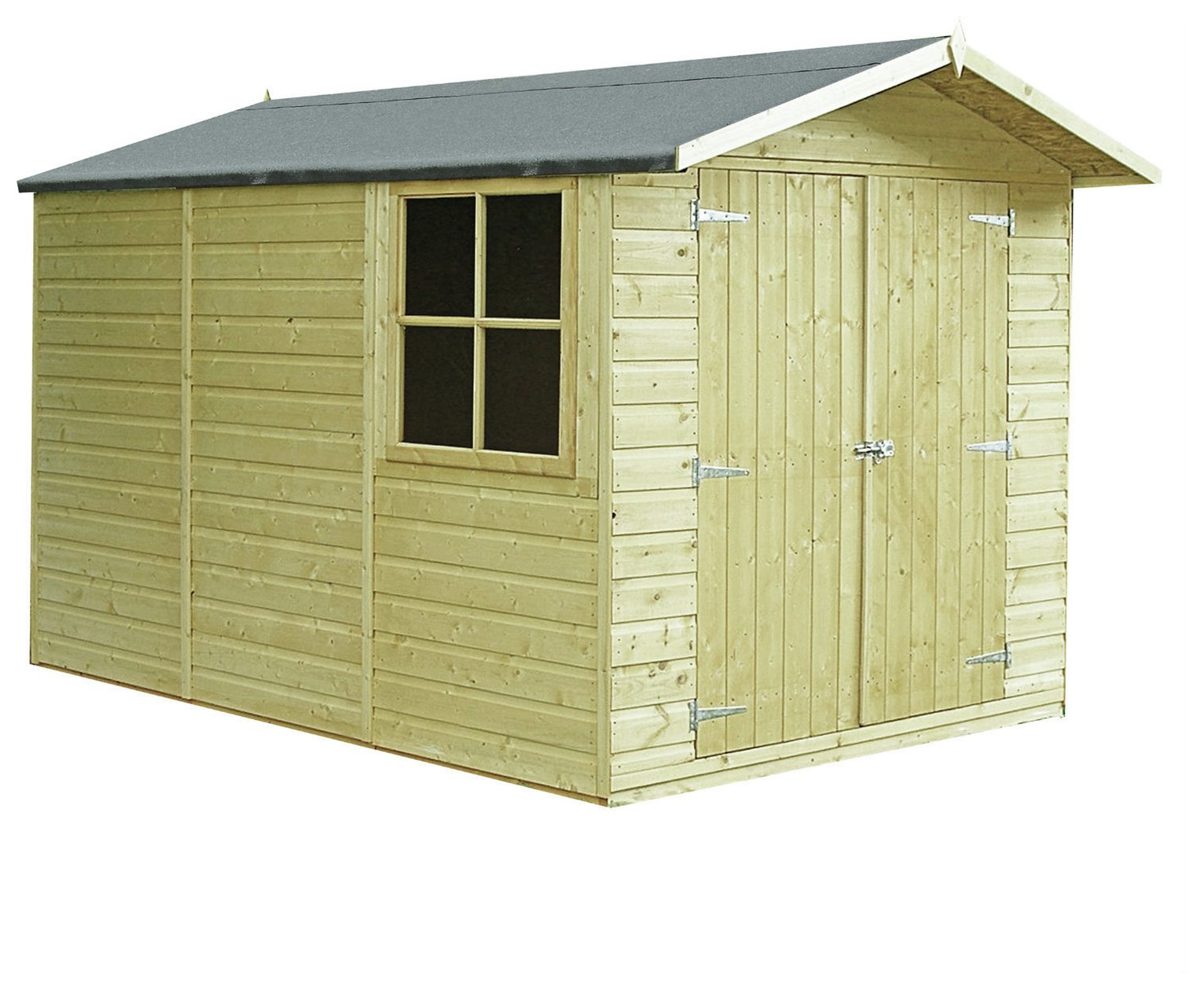 Image of Homewood Pressure Treated Apex Shed 10 x 7ft