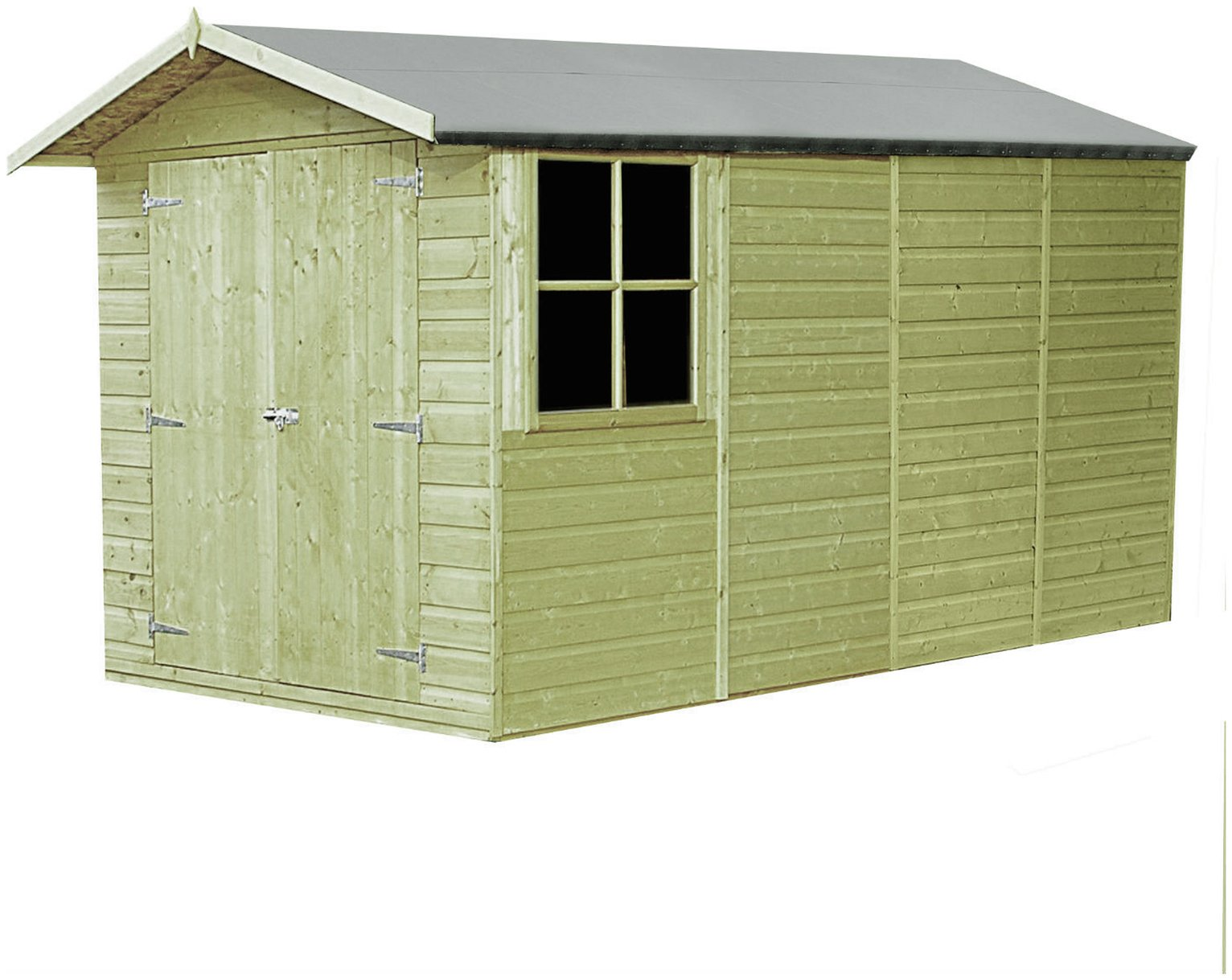 Image of Homewood Pressure Treated Apex Shed 13 x 7ft