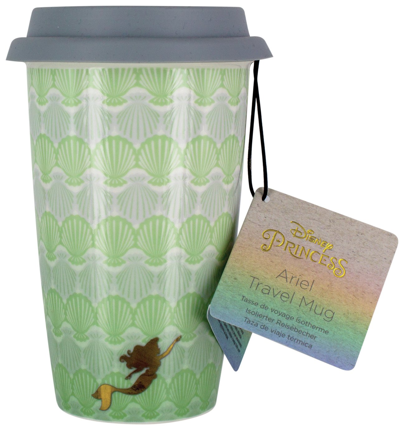 Disney Princess Ariel Porcelain Travel Mug