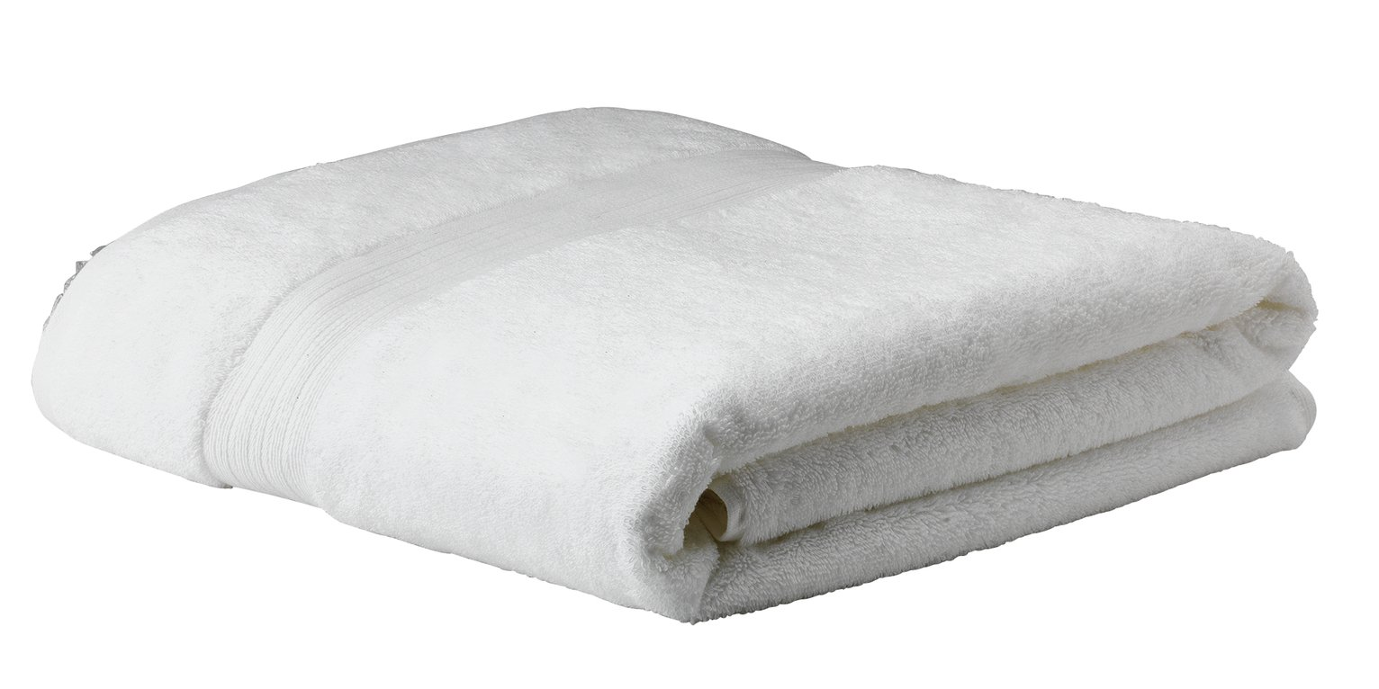 Argos Home Egyptian Cotton Bath Sheet - White