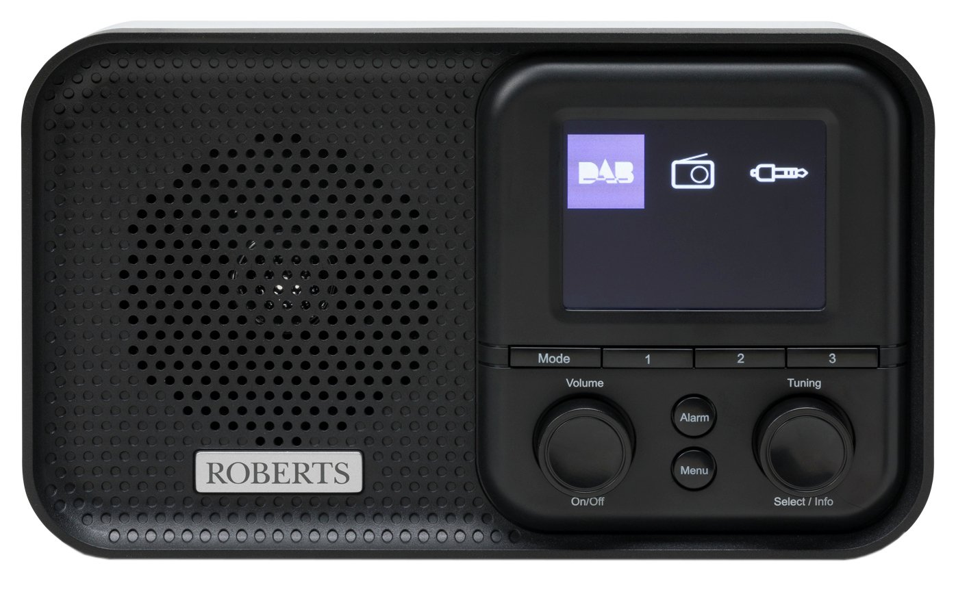 Roberts Play M5 DAB / DAB+ / FM Radio - Black