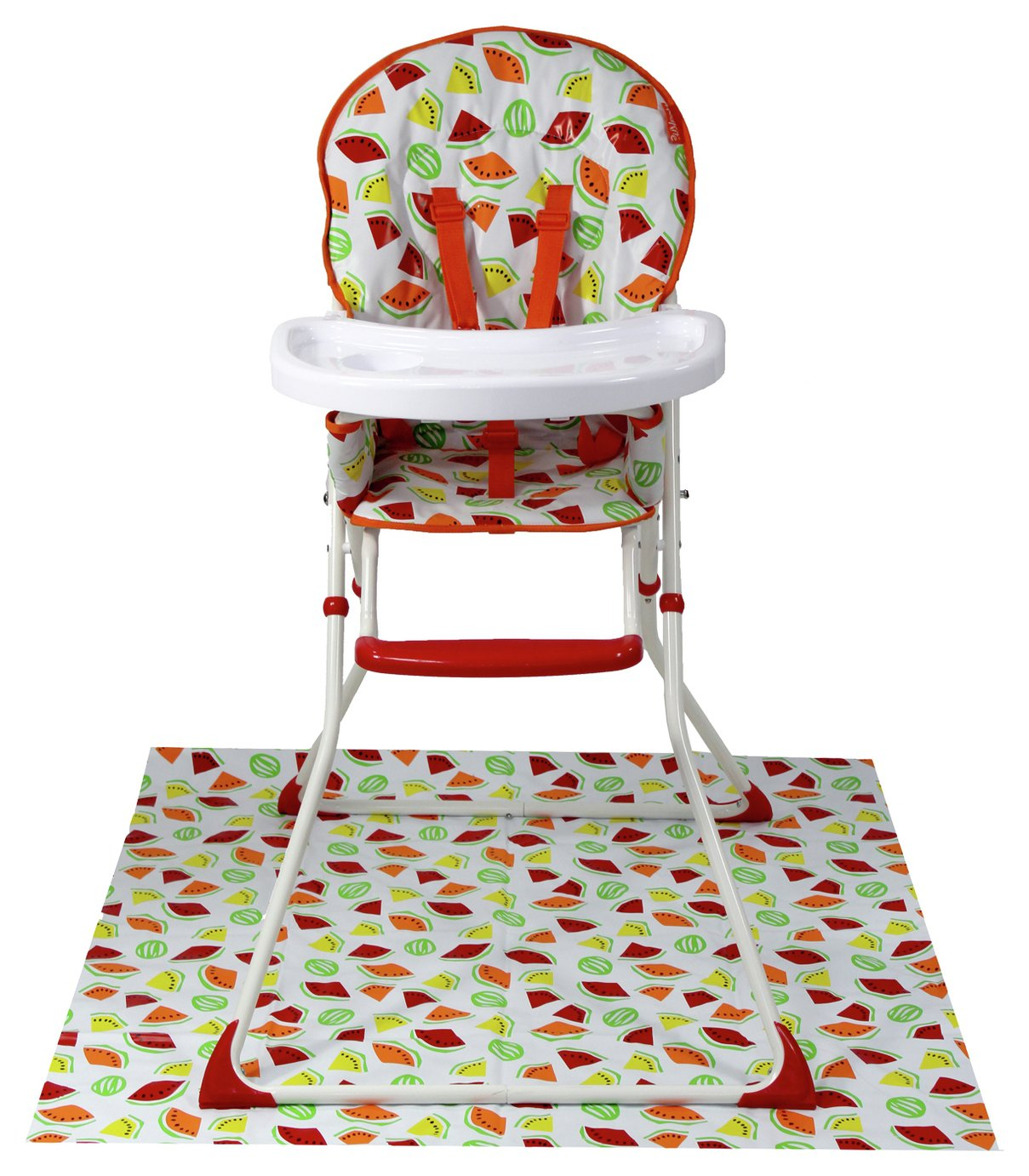 Red Kite Feed Me Compact Folding Highchair