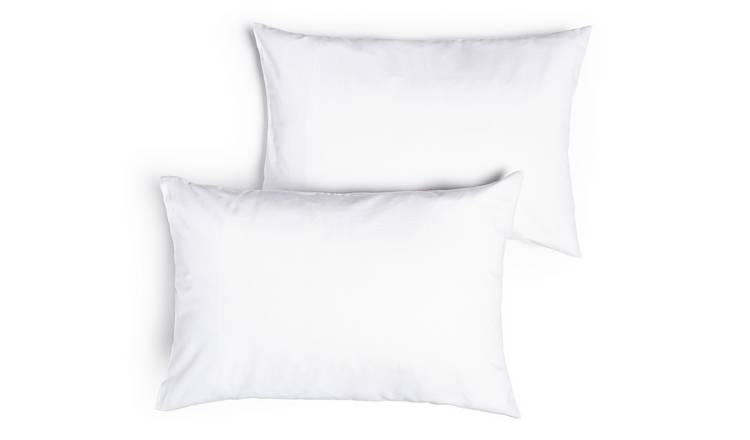 Sainsbury's Cream Pillowcase Pair 400TC