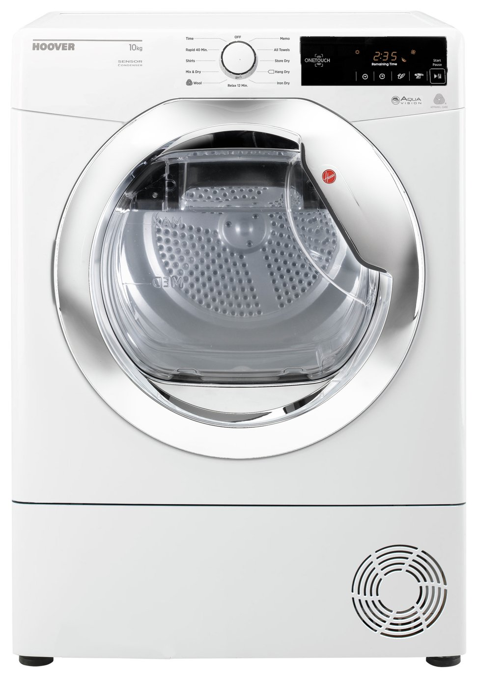 Hoover DXC10TCE 10KG Condenser Tumble Dryer - White