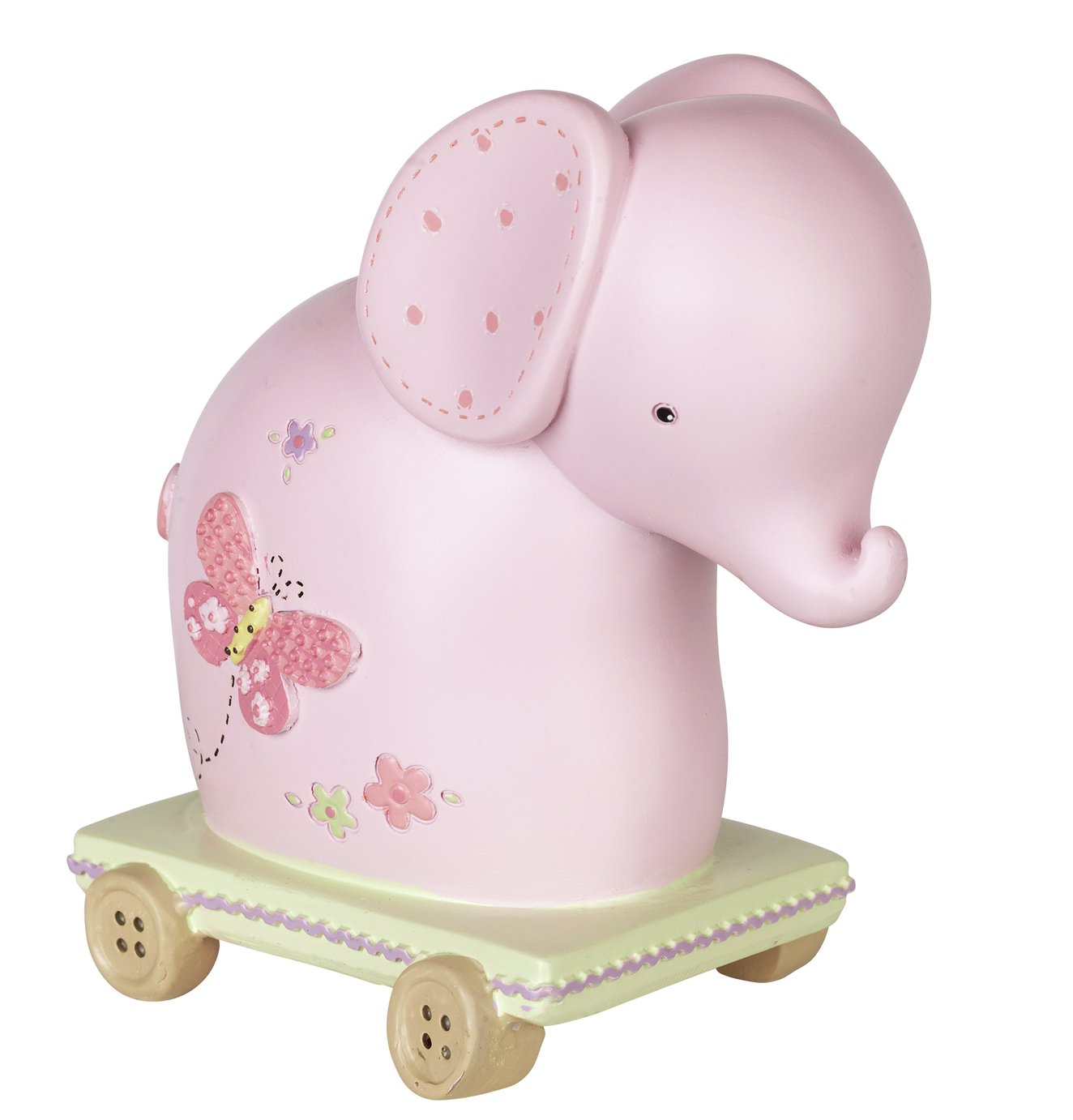 Petit Cheri Pink Elephant Money Box