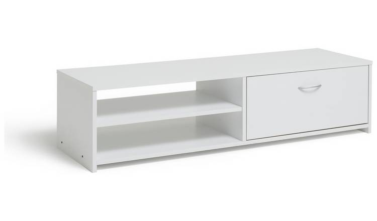 Habitat 1 Drawer TV Unit - White