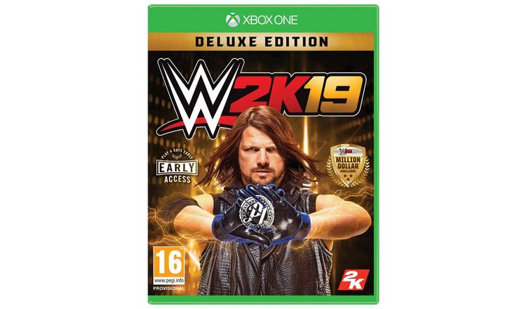 wwe 2k19 collectors edition pre order