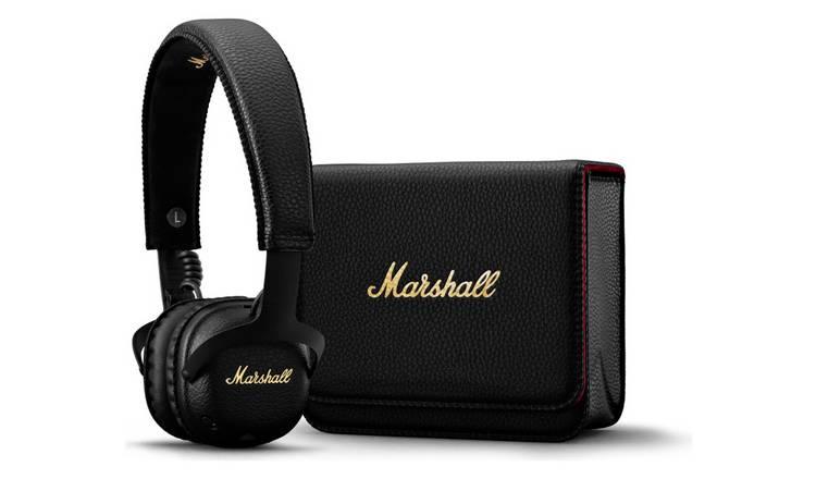 eacc89160f4 Marshall MID ANC On-Ear Bluetooth Headphones - Black816/2359