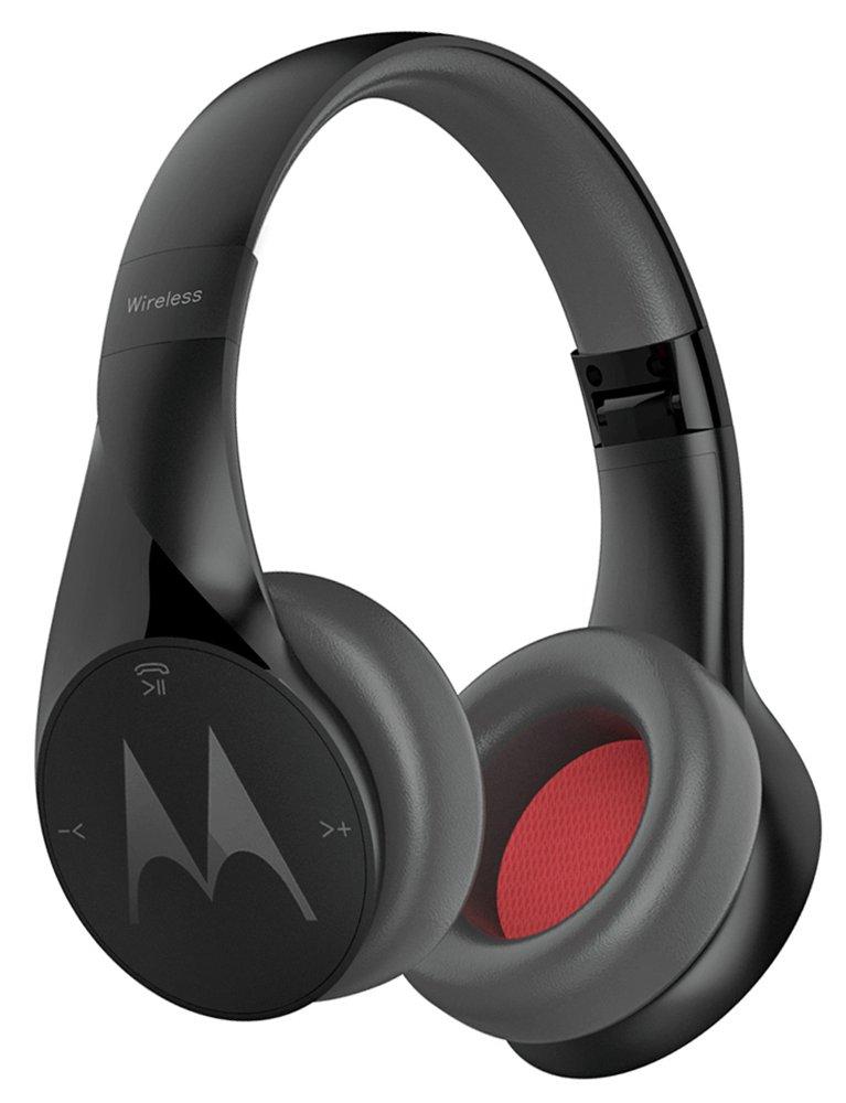 Motorola Escape Bluetooth Over-Ear Headphones - Black