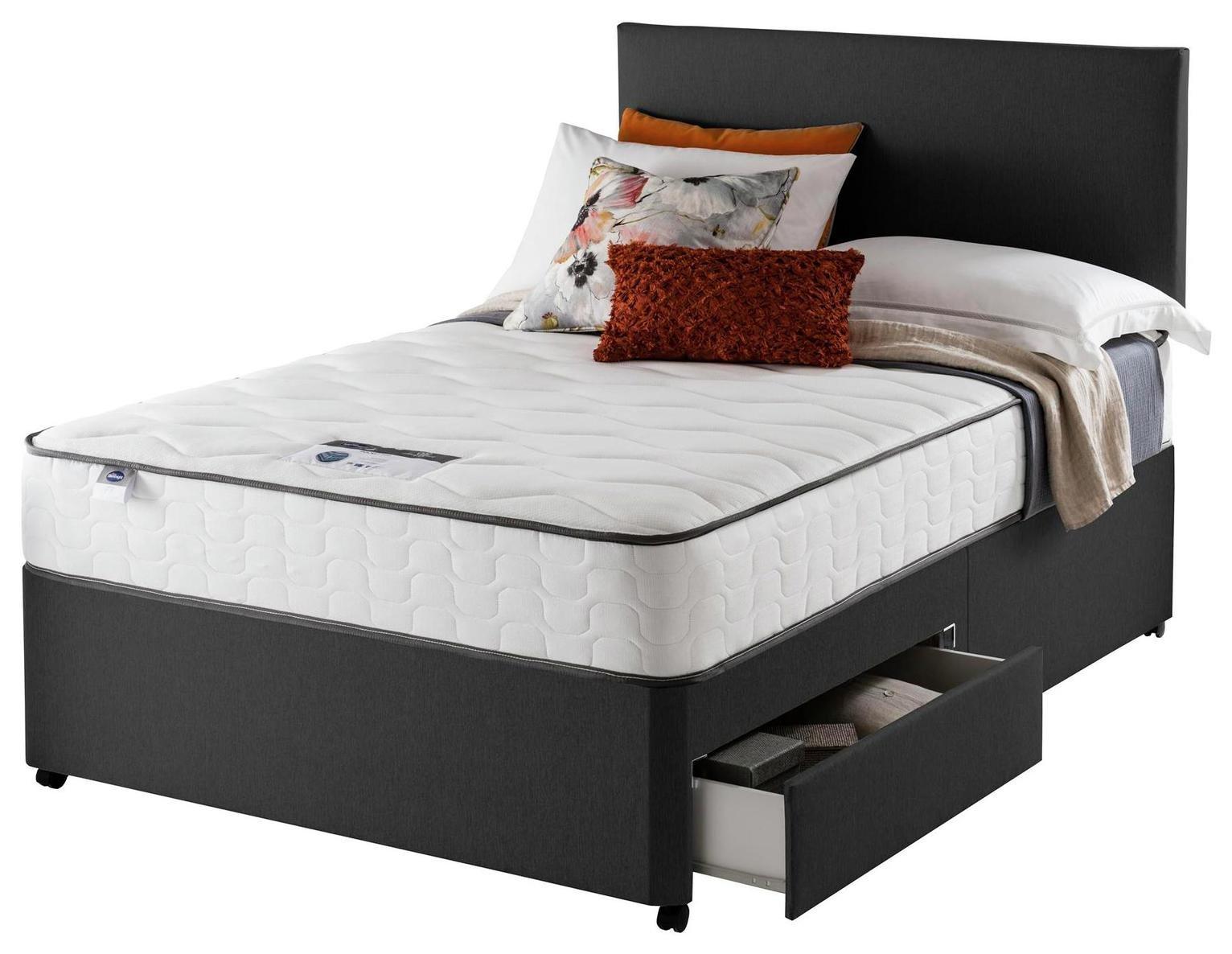 Silentnight Middleton 800 PKT Comfort 2DRW Ccoal Superking
