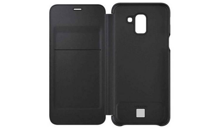brand new d8779 cad77 Buy Samsung J6 Mobile Phone Wallet Cover - Black | Mobile phone cases |  Argos